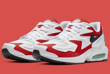 "Nike Air Max2 Light Coming In OG ""Habanero Red"" Colorway"