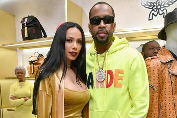 Safaree & Erica Mena Share Details Of Their Romance On Lovey Dovey YouTube Channel