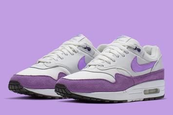 """Nike Air Max 1 Will Come In A Vibrant """"Atomic Violet"""" Colorway"""