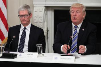 "Donald Trump Denies Calling Tim Cook ""Tim Apple"" Despite Video Evidence"