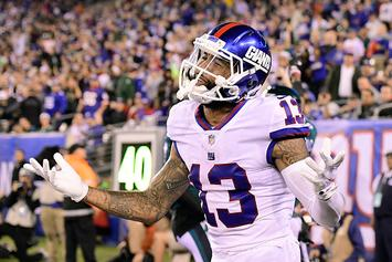 """Giants Involved In Odell Beckham Trade Talks, But """"Asking Price Is Ridiculous"""""""