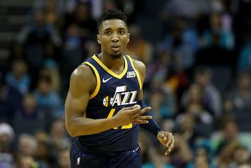 Donovan Mitchell Issues Statement On Westbrook-Jazz Fan Incident