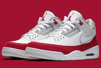 "Air Jordan 3 ""University Red"" Gets Official Images From Nike"