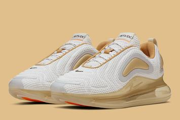 "Nike Air Max 720 ""Pale Vanilla"" First Images Revealed"