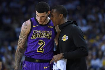 "Lakers Quizzed Lonzo Ball Over Concerns ""Big Baller"" Sneakers Caused His Injury"