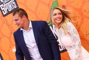 "Rob Gronkowski's Girlfriend Calls Him ""Best That Has Ever Played The Game"""