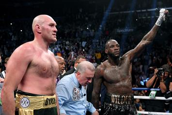 "Deontay Wilder Says Tyson Fury Rematch Will ""Probably"" Happen In 2020"
