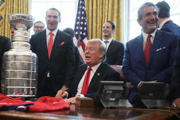 Washington Capitals Get The Shaft On White House Fast Food Meal