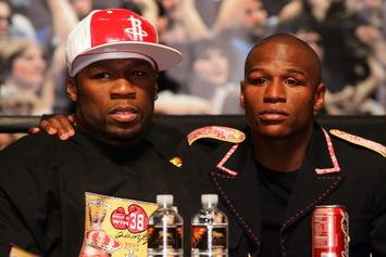 50 Cent Gives Floyd Mayweather Advice About Ex's Stolen Items Accusations