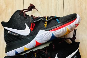 """Nike Kyrie 5 """"Friends"""" Colorway Nods To The Classic TV Series"""