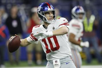 "Eli Manning Is ""Still A Quality NFL Quarterback"" According To Giants GM"