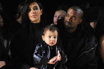 "Kanye West Looks Uneasy In Kim Kardashian's ""Healthy Family"" Selfie"