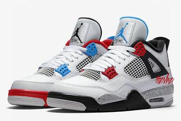 "Air Jordan 4 ""What The"" Rumored To Release On Black Friday"