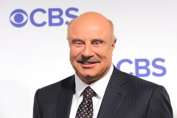 Dr. Phil Shaves His Iconic Mustache On April Fool's Day