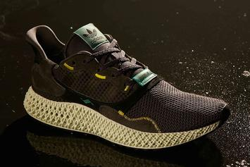 "Adidas ZX4000 4D ""Carbon"" New Images & Release Information"