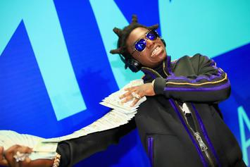 Kodak Black Gets Touchy-Feely Love From A Fan While Vacationing In The Bahamas