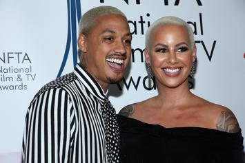 Amber Rose Announces She's Pregnant With Alexander 'AE' Edward's Child