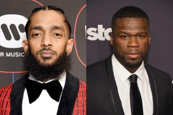 """50 Cent Opens Up About Mourning Nipsey Hussle: """"It's Harder For Me To Express It"""""""