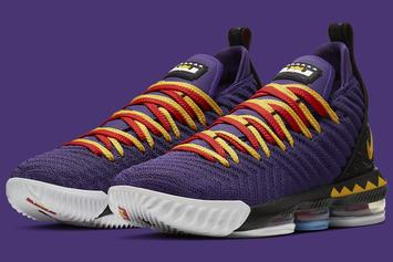 "Nike LeBron 16 ""Martin"" Official Images & Release Details"