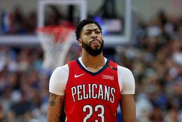"Anthony Davis Doesn't Regret Trade Request: ""It's Over With Now"""