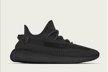 Adidas Yeezy Boost 350 V2 Black Colorway Release Date Announced