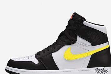 "Air Jordan 1 High OG ""Dynamic Yellow"" Colorway Revealed: Details"