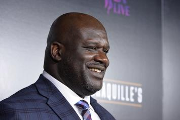 """Shaq Hilariously Attempts To Buss It Down To """"Thotiana"""""""
