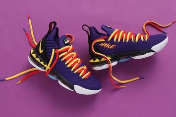 "Nike LeBron 16 ""Martin"" Releasing Today: Purchase Links"
