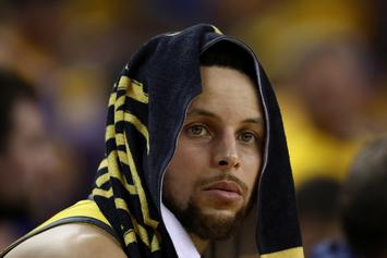 """Steph Curry Responds To Historic Blown Lead: """"The Wheels Fell Off"""""""