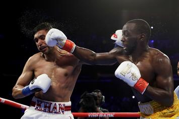 Amir Khan Was Peeing Blood After Low Blow From Terence Crawford