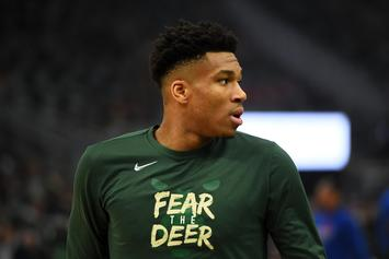 Giannis Antetokounmpo Leads Bucks To First Series Win Since 2001