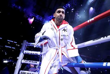 "Amir Khan Should Apologize For ""Quitting"" After Low Blow, Says Roy Jones Sr."