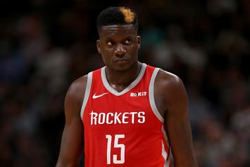 """Rockets' Clint Capela Pulling For Warriors: """"I Want To Face Them"""""""