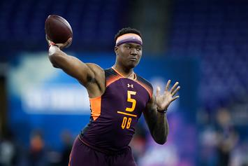 NFL Draft Rumors: Raiders Considering QB Dwayne Haskins With Fourth Pick