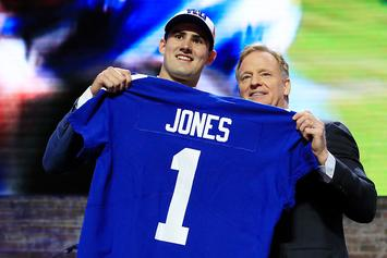 Giants Take Duke QB Daniel Jones 6th Overall: Twitter Erupts