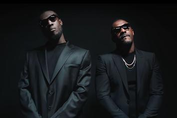"Stormzy Posts Up With Idris ""James Bond"" Elba In The ""Vossi Bop"" Music Video"