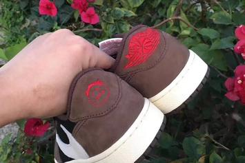 Travis Scott x Air Jordan 1 Low Revealed In Detail: New Images