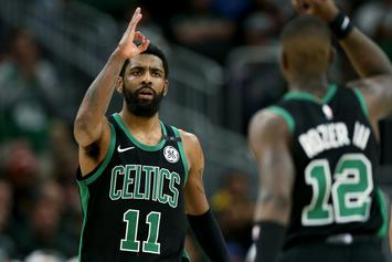 Kyrie Irving Isn't Worried About The Celtics After Blowout Loss To The Bucks