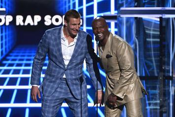 Rob Gronkowski Appears As A Cop At The Billboard Music Awards