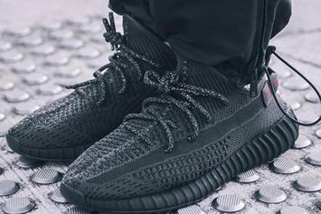 "Adidas Yeezy Boost 350 V2 ""Black"" Releasing In June: On-Foot Photos"