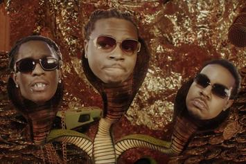 "Gunna & Young Thug Get Serpentine In ""Three Headed Snake"""