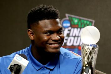 Zion Williamson Launches Football Like An NFL Quarterback: Video