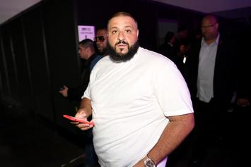 "DJ Khaled Unveils Avian Themed, Mitchell & Ness ""Father Of Asahd"" Merch"