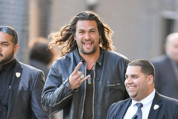 Jason Momoa Teaches Ellen DeGeneres How To Axe Throw For Charity