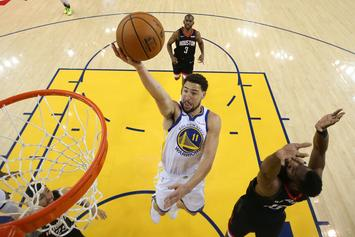 Klay Thompson Denies Report That He's Unhappy With The Warriors