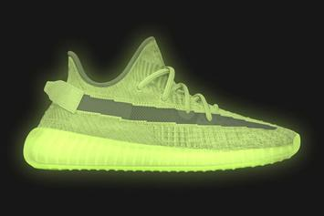"Adidas Yeezy Boost 350 V2 ""Glow"" Dropping In Full Family Sizing: Details"