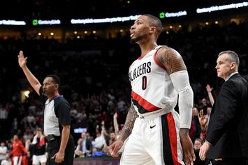 Is This Damian Lillard's Next Adidas Sneaker?