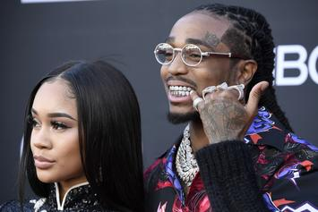 Quavo Gifts Saweetie With Some Serious Bling