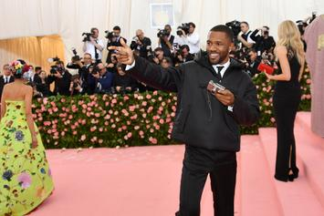 Frank Ocean Takes Behind The Scenes Met Gala Pictures