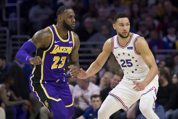 LeBron James For Ben Simmons Trade Reportedly A Possibility